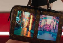 Louis Vuitton ha creato una borsa morbida con tanto di display flessibile