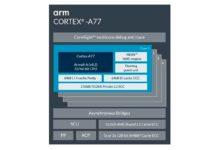 ARM promette migliorie del 20% in termini di performance con l'architettura per CPU Arm Cortex-A77
