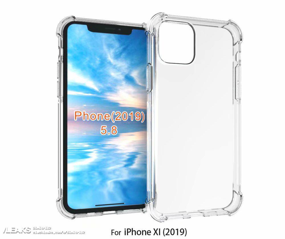 iPhone 2019, la prima cover svelata nei render