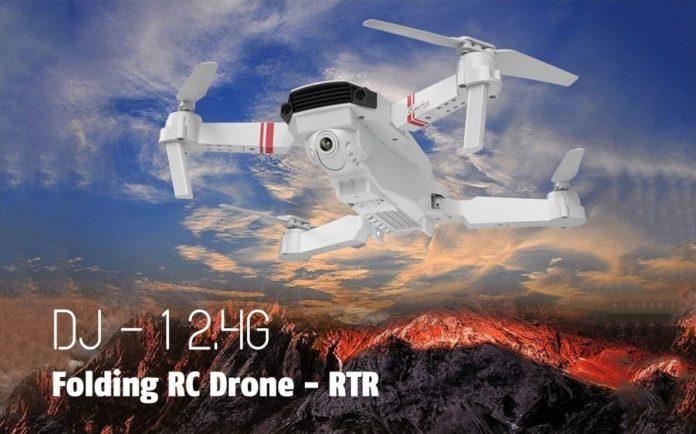 DJ1, il piccolo drone pieghevole con caratteristiche avanzate in offerta lancio