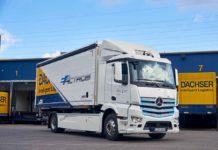 Mercedes-Benz Truck ha consegnato eActros, il truck pesante completamente elettrico