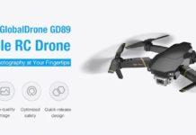 GLOBALDRONE GD89, il clone low cost del Mavic Pro è servito a 52 euro