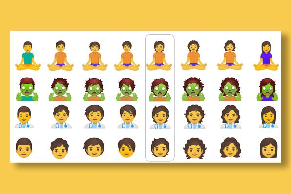 Su Android Q beta 3 entrano 53 emoji di genere neutro