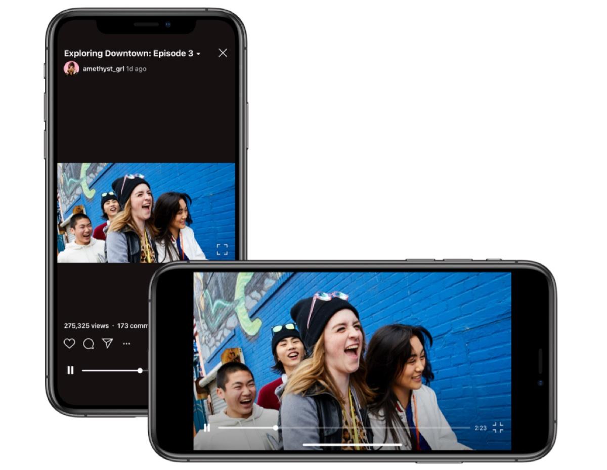 Instagram rivoluziona IGTV ora con video anche in orizzontale