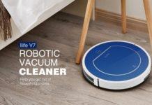 iLife V7, solo 80 euro per portarsi a casa un'aspirapolvere robot intelligente