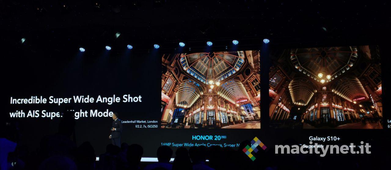 Honor 20 e le sue funzionalità fotografiche