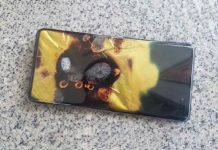 Galaxy S10 5G incendiato