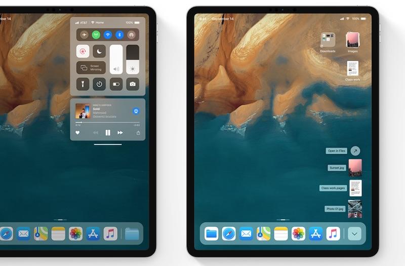 iOS 13 immaginato con modalità scura, nuovo indicatore volume e schermo esteso per Mac