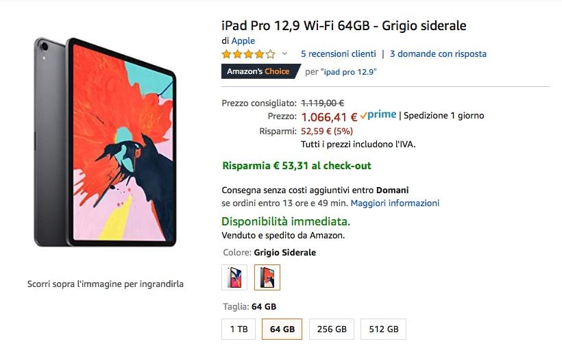 """Continuano gli sconti """"segreti"""" su prodotti Apple: Apple Watch 4, iPad Pro 12″, Mac mini"""