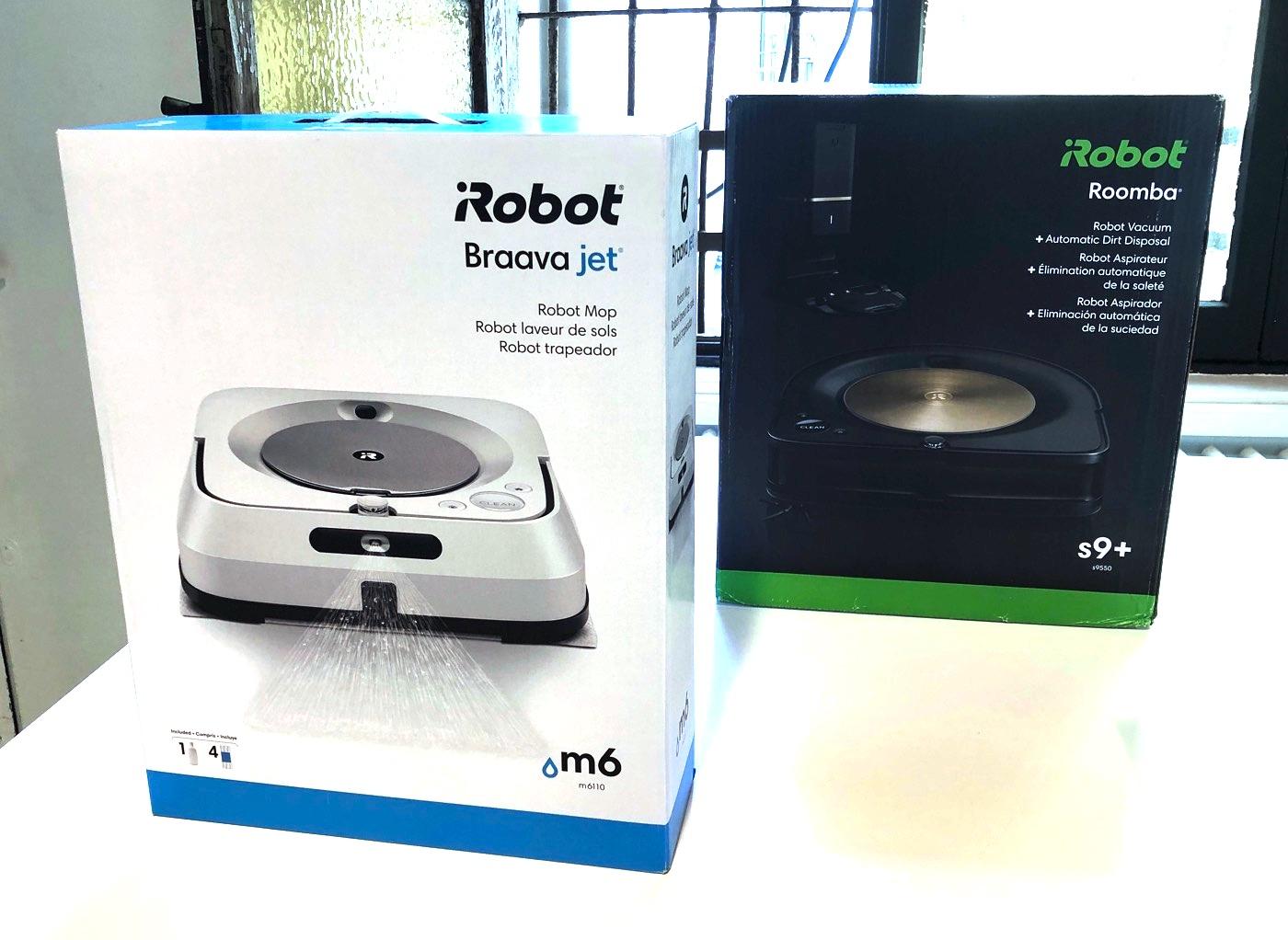 iRobot Roomba s9+ e Braava Jet m6, pulizie in tandem per i robot più potenti che aspirano e lavano