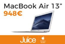 """Juice taglia il prezzo di MacBook Air 13"""""""