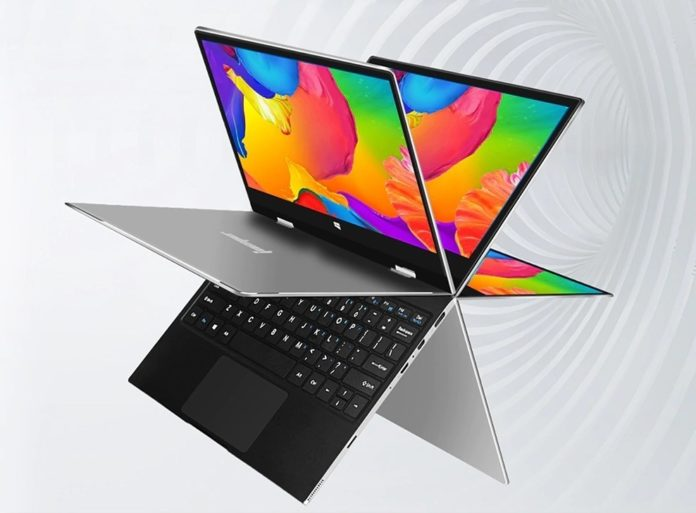 Jumper EZbook X1, il notebook 11″ convertibile 360° in offerta imperdibile