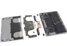 Nuovo MacBook Pro 15″ 2019 con nuova tastiera smontato da iFixit