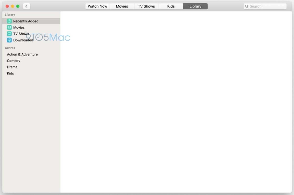 macOS 10.15, trapelano le prime schermate delle nuove app Musica e TV