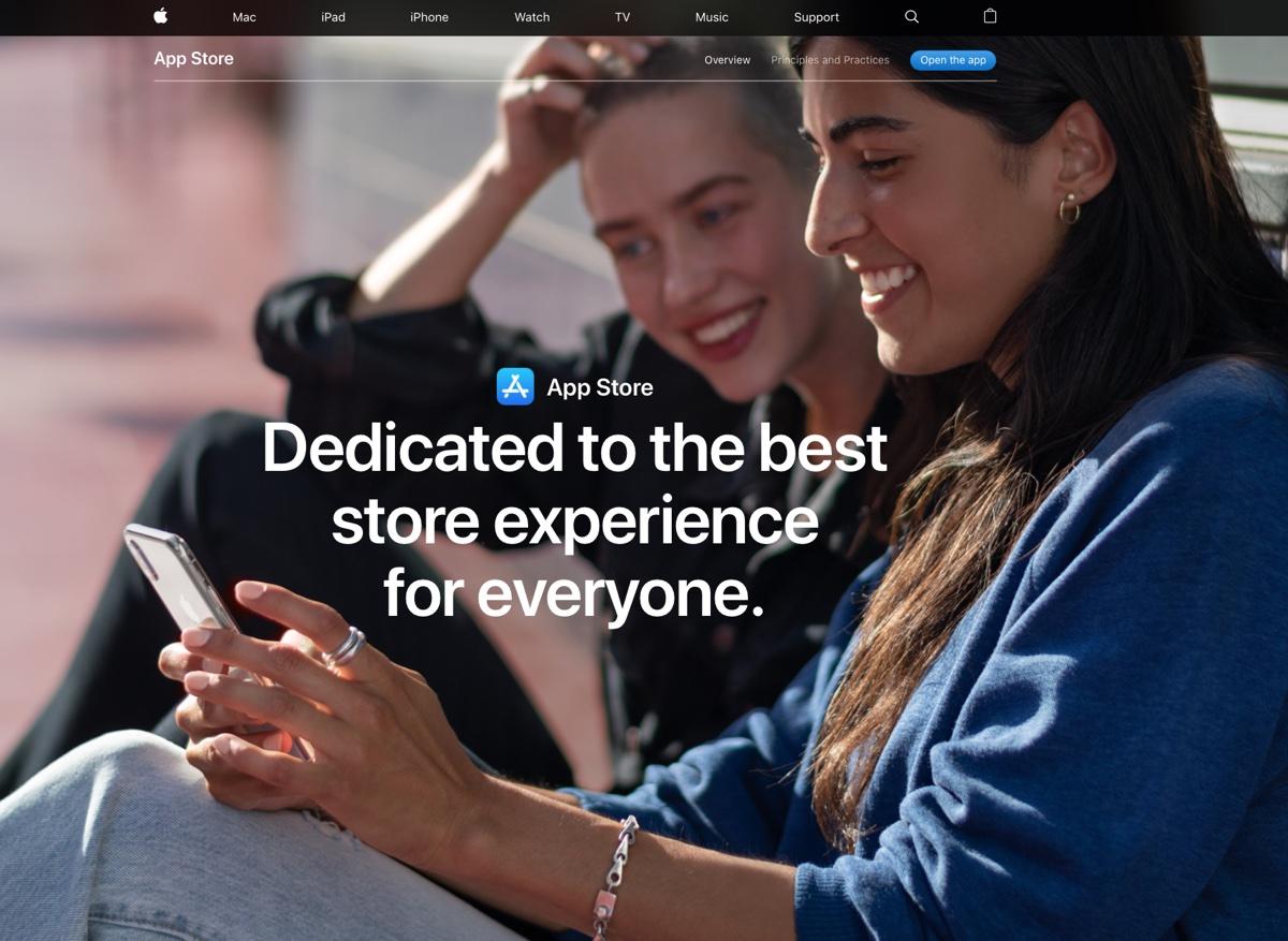 Apple risponde alle critiche sul monopolio di App Store con una pagina dedicata