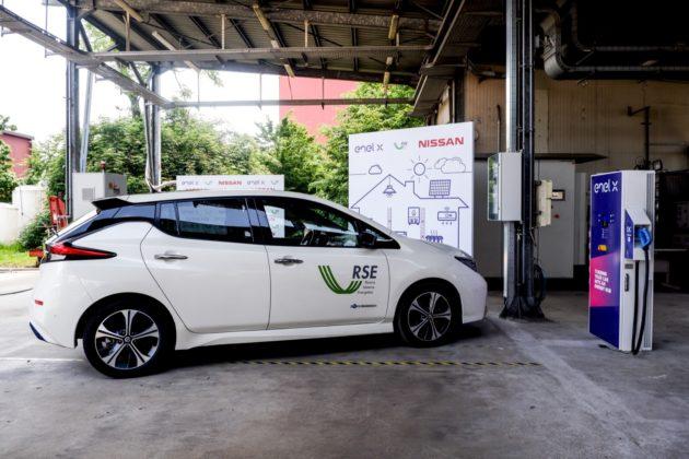 Nissan, Enel-X e RSE pianificano l'energia per il futuro, rinnovabile e social