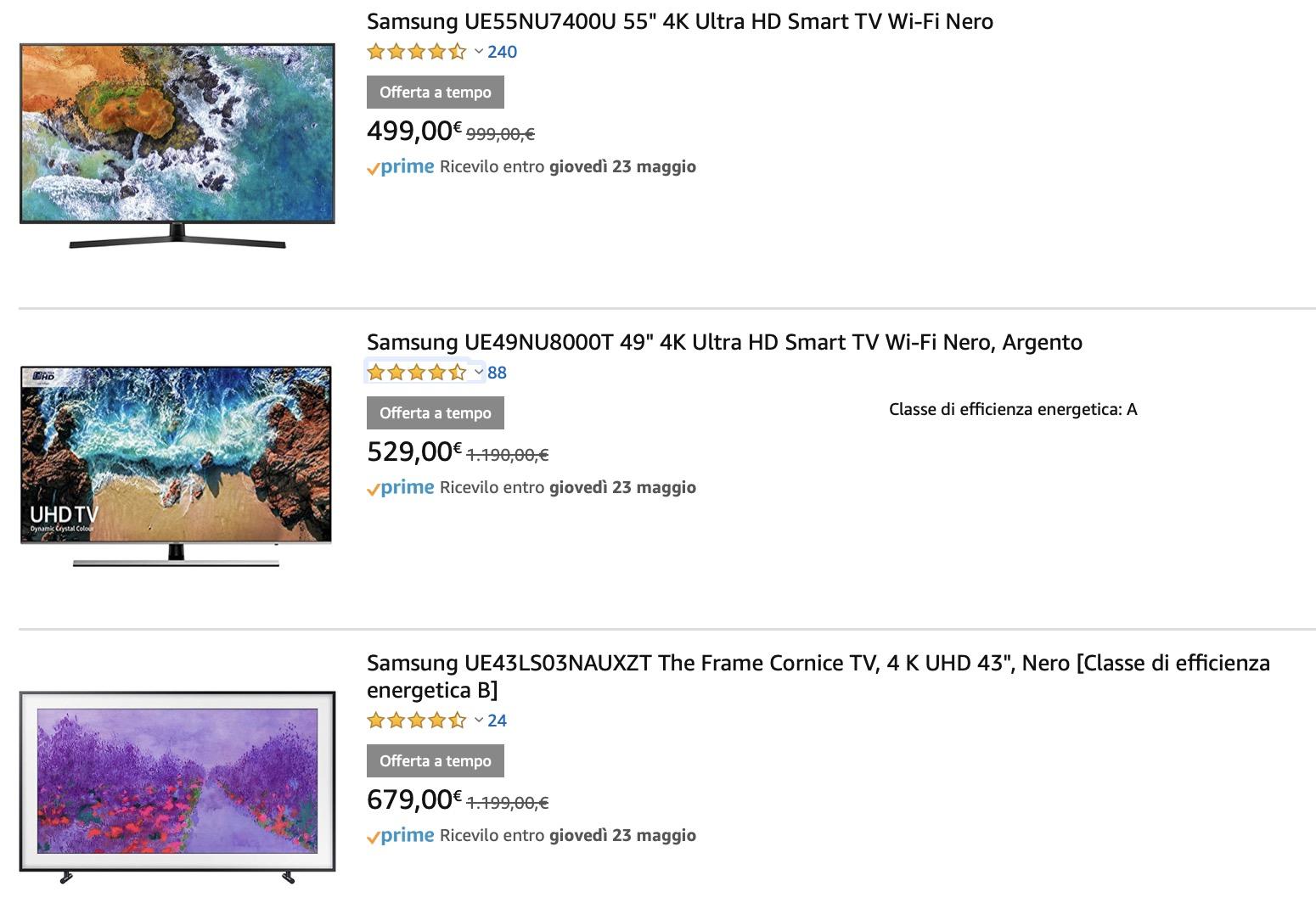 Offerte Amazon di Sabato 18 Maggio con Microsoft, Samsung, Panasonic, Netgear, Koogeek