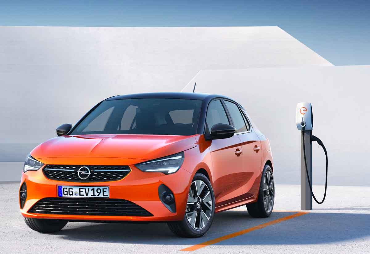 Opel Corsa ha svelato la sua nuova auto elettrica