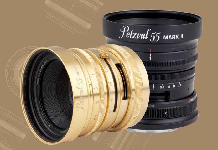 Lomography, nuovo obiettivo F1.7 Petzval 55 mm per mirrorless full frame