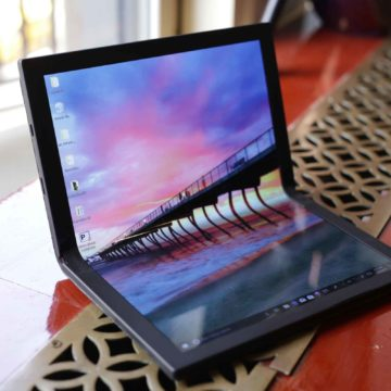 Lenovo al lavoro per creare un notebook pieghevole