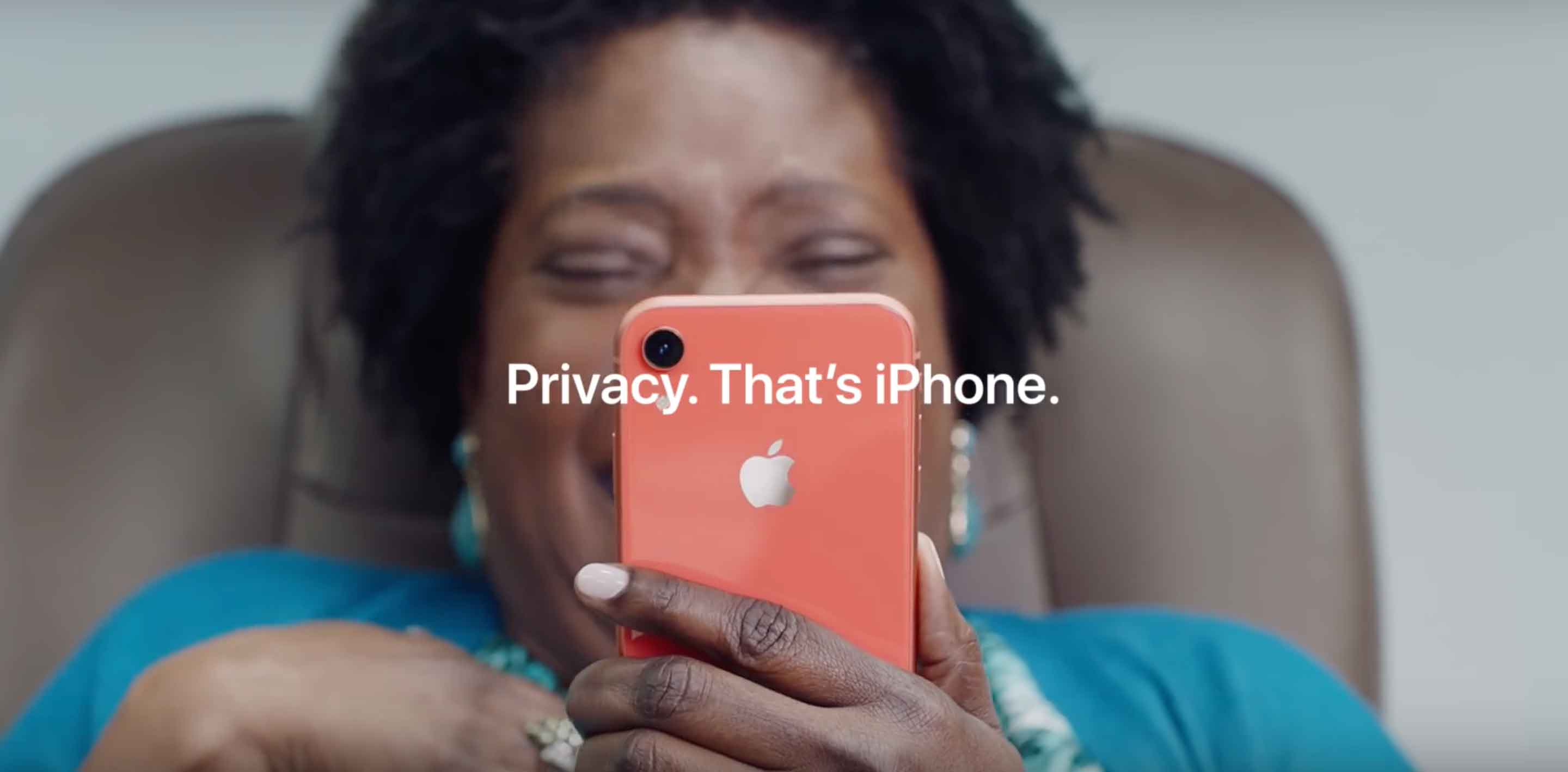 Privacy. That's iPhone