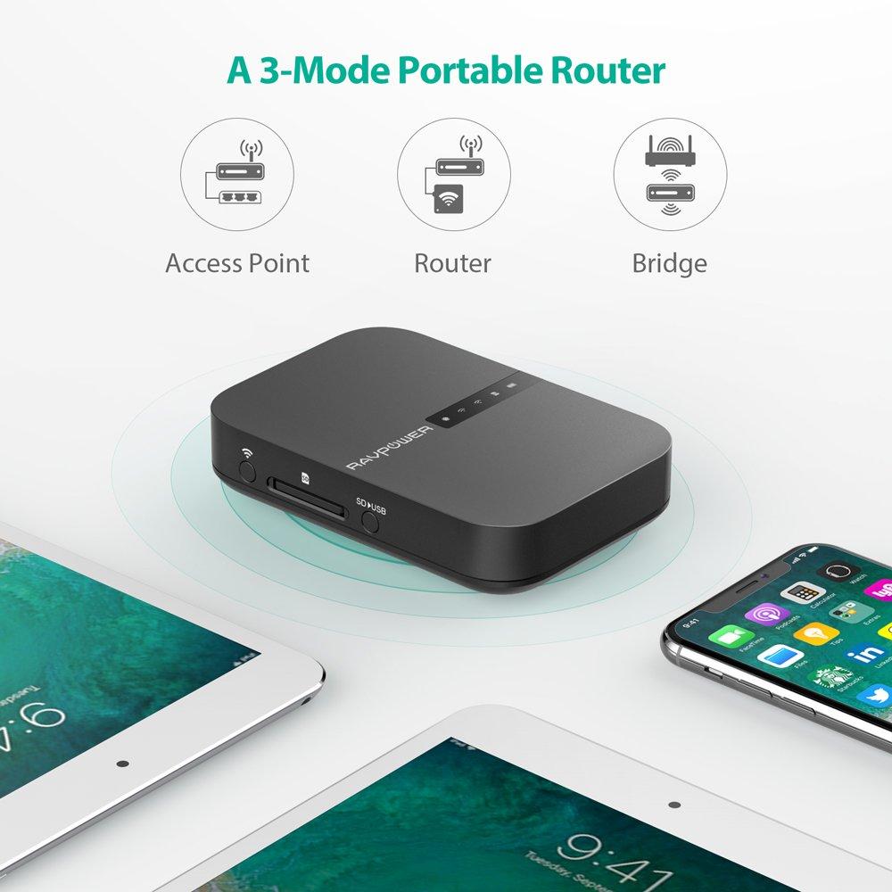 RAVPower FileHub 2019, recensione del router tuttofare da tasca