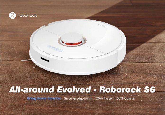 Roborock S6, il super aspirapolvere robot, compatibile con Alexa e più evoluto che mai