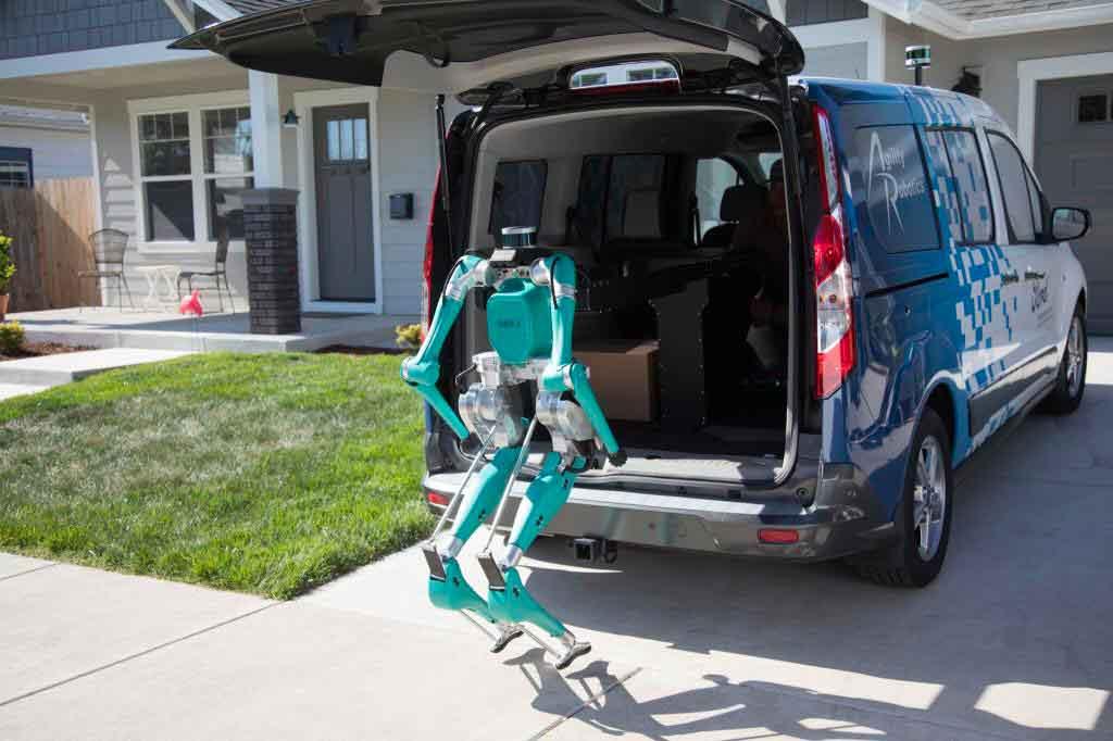 Ford studia un robot per le consegne dei beni nell'ultimo miglio