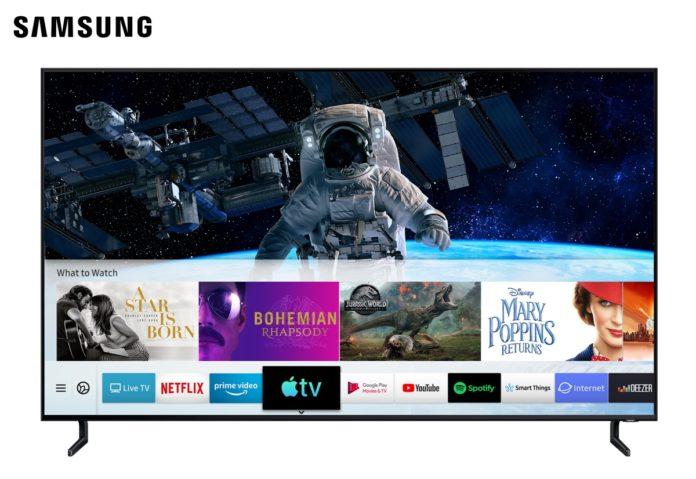 Samsung annuncia l'arrivo dell'app Apple TV e AirPlay 2 sui suoi televisori