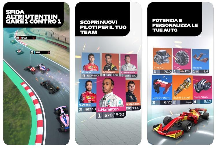 F1 Manager: gestisci la tua scuderia di Formula 1, gratis su iOS