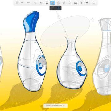 L'app Autodesk SketchBook aggiornata con supporto iPad Pro e Apple Pencil