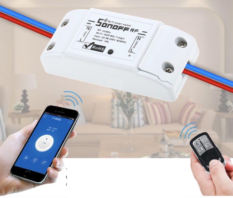 Sonoff RF Switch: impressioni d'uso sullo switch più economico e versatile sul mercato