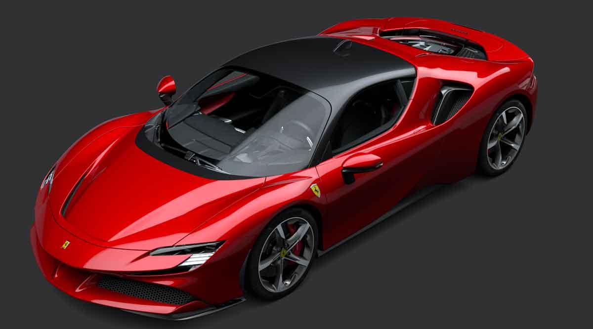 Ferrari SF90 Stradale è la nuova supercar ibrida