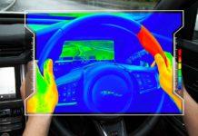 Land Rover, il volante aptico per aiutare a concentrarsi sulla strada
