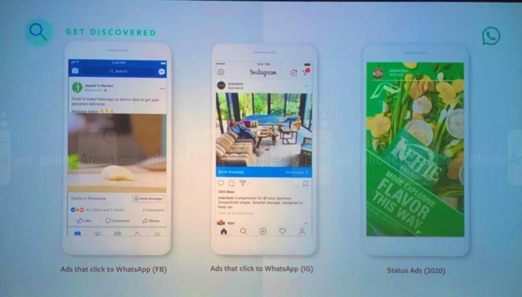 Pubblicità su WhatsApp ufficiale dal 2020, ecco come sarà