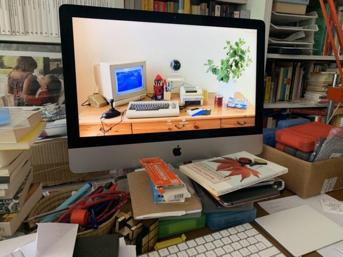Un iMac come hub dello stile di vita digitale e multiutente
