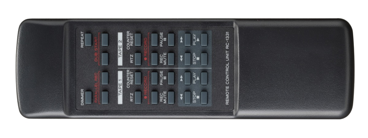 Il registratore a doppia cassetta non è ancora morto