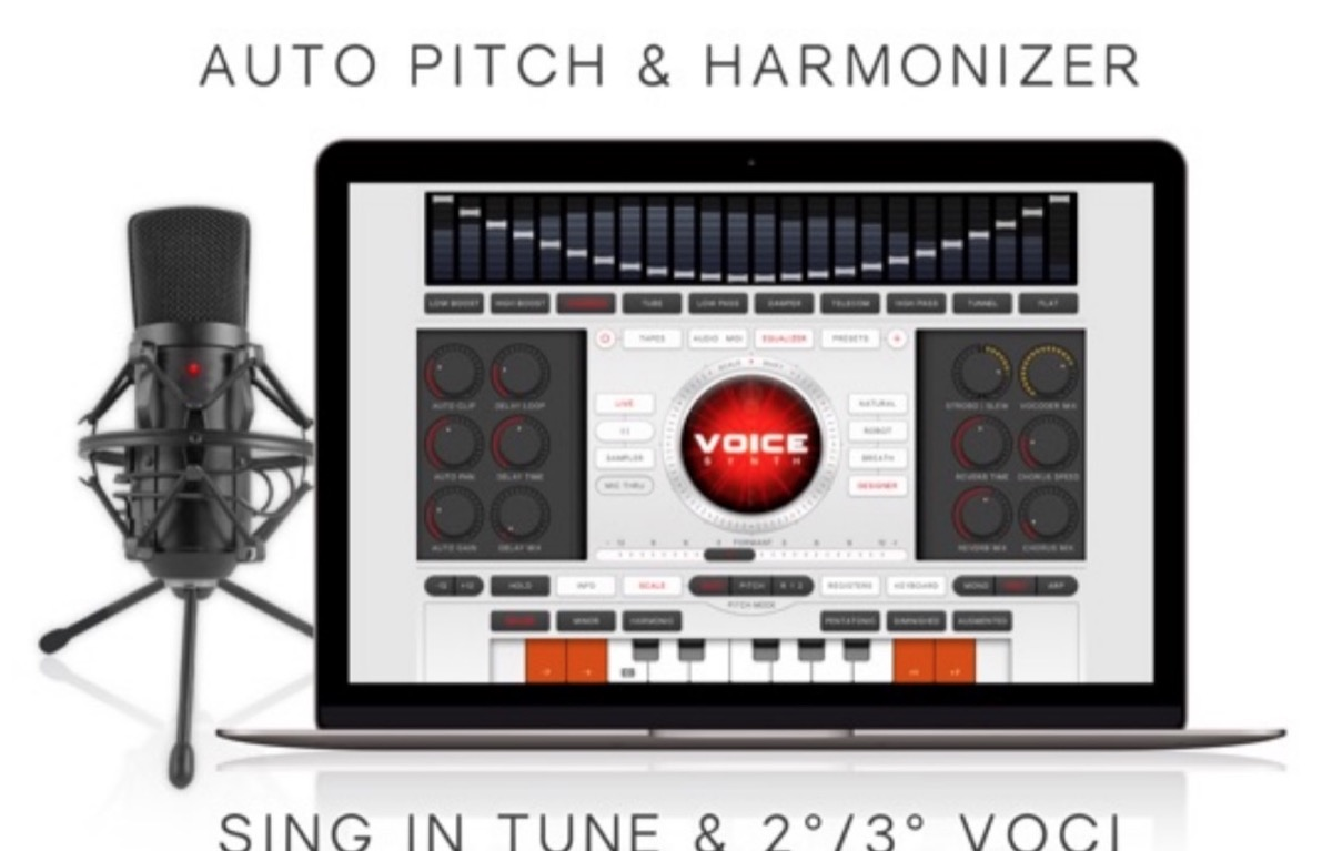 Voice Synth, il processore vocale per Mac