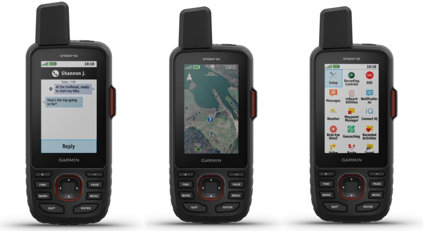 Garmin GPSMAP 66i, il satellitare con mappe e messaggi