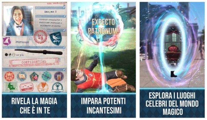 Harry Potter Wizard Unite, il Pokémon Go dei maghi arriva venerdì