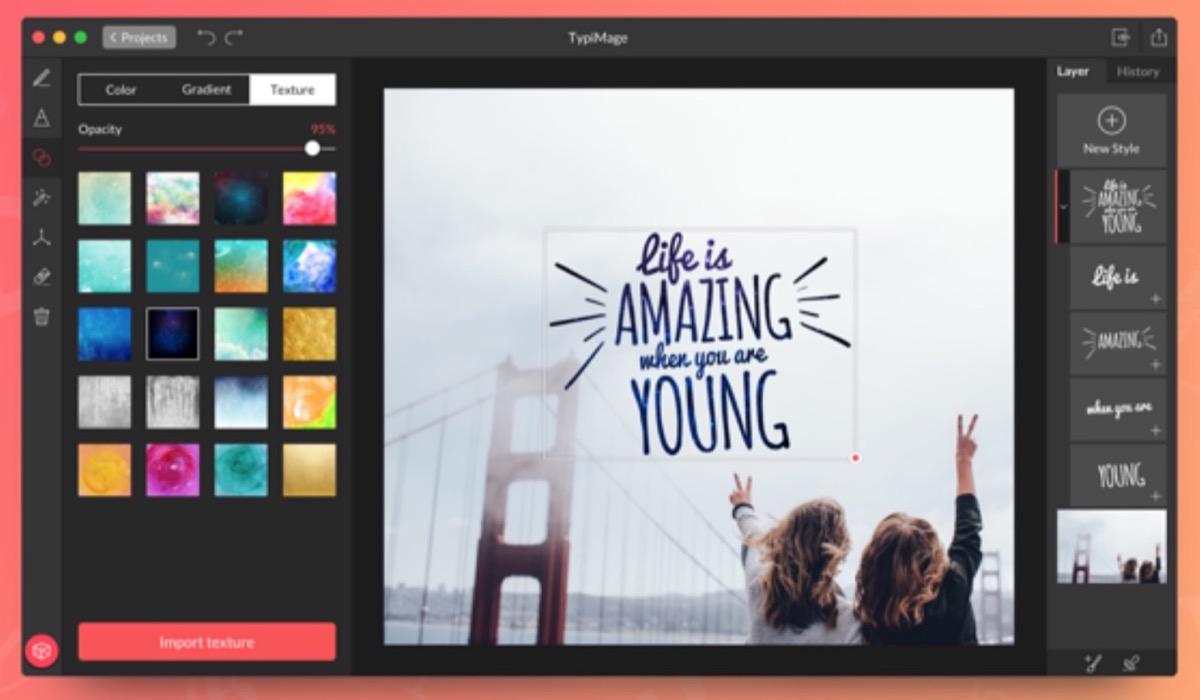 TypiMage per Mac, aggiungere testi d'effetto sulle immagini non è mai stato così facile