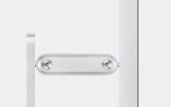 Il piedistallo del monitor Apple è venduto separatamente a 1000 dollari