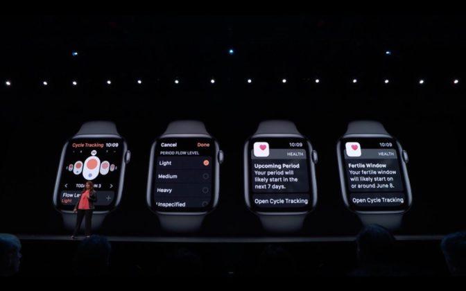 Apple presenta il nuovo watchOS 6: arriva l'App Store