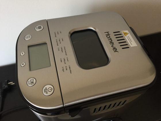 Recensione Homever MBF-001, la macchina per fare il pane in casa