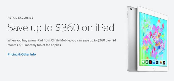 Apple chiede a Comcast e Charter di vendere iPad e Apple TV