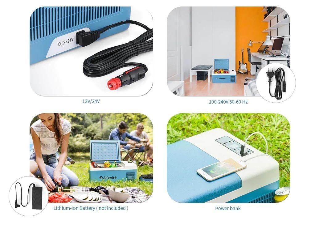 Alfawise B15, il frigorifero smart portatile indispensabile per le scampagnate