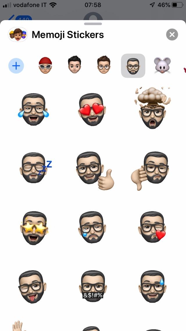 Come funzionano le Memoji di iOS 13