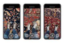 Le scarpe di Gucci si provano grazie alla realtà aumentata con l'app Gucci per iOS