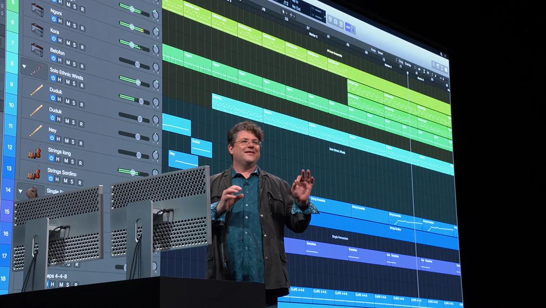 Apple ha aggiornato Logic Pro X, pronto per sfruttare appieno i nuovi Mac Pro
