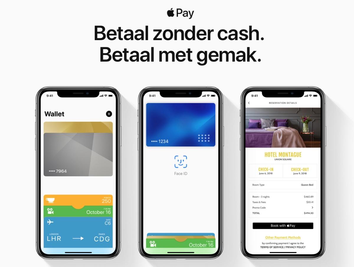 Apple Pay in Olanda ora disponibile con ING